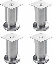 4Pcs Furniture Legs,Stainless Steel Kitchen