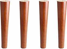 4PCS Height Sofa Legs Wooden Furniture Legs Sofa