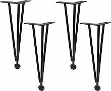 4pcs Iron Furniture Legs, Furniture Feet DIY