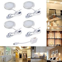 4pcs LED Under Cabinet Lighting Fixture, Interior