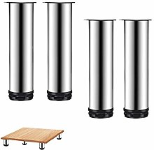 4pcs Metal Furniture Legs,Stainless Steel Cabinet