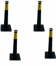 4pcs Metal Table Legs, Cabinet Legs Cone Furniture