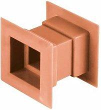 4pcs Mini Square Air Vent Door Grille Internal