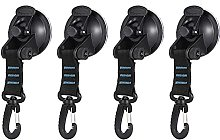 4pcs Outdoor Suction Cup Anchor Securing Hook Tie