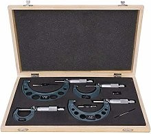 4Pcs Outside Diameter Micrometer 0-4in Imperial