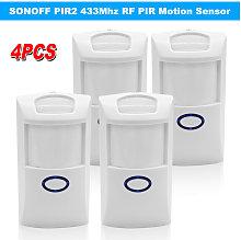 4PCS PIR2 Wireless Dual Infrared Detector 433Mhz
