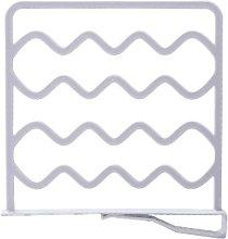 4PCS PP Wardrobe & Shelf Dividers Partition Wall