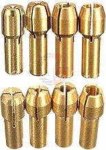 4PCS Rotary Multi Tool Collet Nut Kit for Dremel