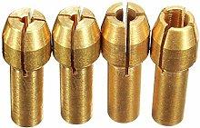 4Pcs Rotary Multi Tool Collet Nut Kit Set for