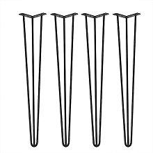 4Pcs/Set 28inch/30inch Hairpin Metal Furniture