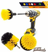 4Pcs/Set Drill Power Scrub Clean Brush Electric