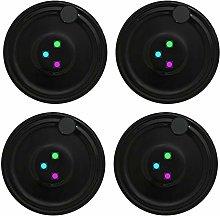 4PCS/Set Led for Coaster Round Shape Luminous