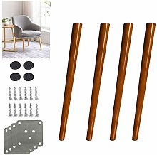 4pcs Solid Wood Furniture Legs, Oak Cabinet feet,