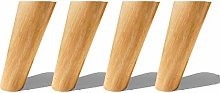 4pcs Solid Wood Furniture Legs, Replacement