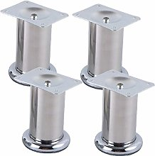 4pcs Stainless Steel Furniture Legs,Replacement