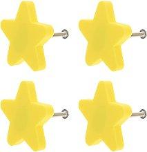 4PCS Star Cabinet Pulls Drawer Pull Handle