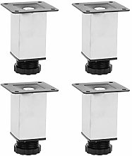 4PCS Table Cabinet Leg Adjustable Square for