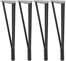 4pcs Table Legs Simple Desk and Chair Legs Coffee