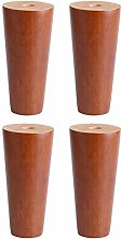 4PCS Wood Furniture Legs,DIY Sofa Legs,TV Cabinet