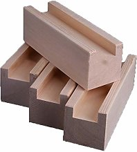 4pcs Wooden Bed Risers,Furniture Riser Heavy Duty