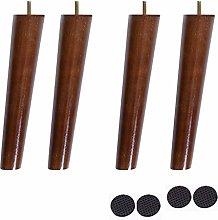 4pcs Wooden Sofa Legs,Furniture Legs,Conical