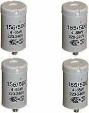4pk Starters for 4-65 Watt T8 / T12 Single
