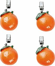 4pk tablecloth weights orange