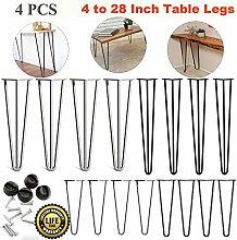 4x Hairpin Table Legs – Premium Double Weld