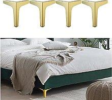 4X Metal Furniture Sofa Legs Cabinet Feet Iron