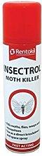 4x Rentokil PS127 Insectrol Moth Killer 250ml
