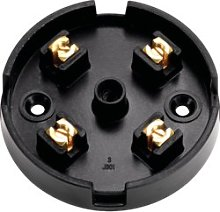 4X20A Small 20A 4 Way Lighting Terminal Junction