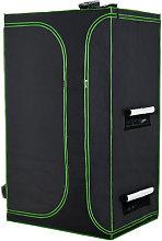4x6.5FT Mylar Hydroponic Grow Tent w/ Adjustable