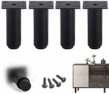 4xTable Legs DIY Metal Furniture Feet,Cold Rolled