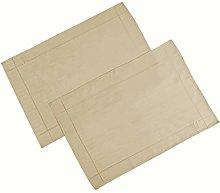 4YH Textiles Soft Feel Easycare Slubbed Latte Pack