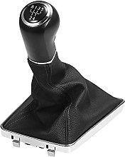 5/6 Speed Gear Shift Stick Knob Cover Leather Boot