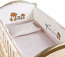 5 Baby Nursery Crib Bedding kit for Cushion