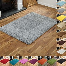 5 cm Thick Pile Shaggy Modern Area Rugs Small to