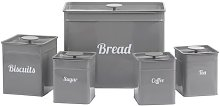 5 Container Food Storage Set Cooks Professional