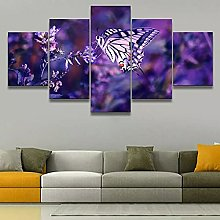 5 decorative paintings Canvas Pictures Print Wall