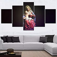 5 decorative paintings Modular Style Picture