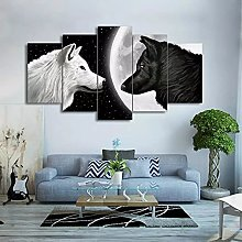 5 decorative paintings Painting Print Poster Wall