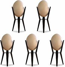 5 Eggs Cup, Egg Cup and Topper Set Egg Cups Holder