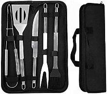 5 in 1 Grill Set, BBQ Accessories, Grill Tool Set,