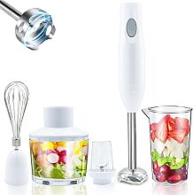5-in-1 Hand Blender Electric, Baby Food Blender,
