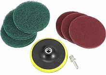 5 Inch Drill Power Scrubber Scouring Pads Cleaning
