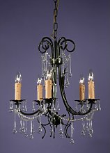 5-Light Candle-Style Chandelier Astoria Grand