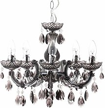 5 Light Dual Mount Chandelier Marie Therese