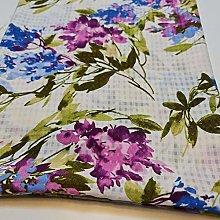 5 Meter Spring Floral Bloom Print Poly Crepe Dress