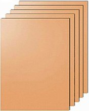 5 Pack BBQ Sheets for Cooking Copper Oven Liners