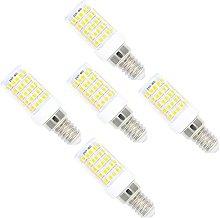 5 Pack E14 Base Dimmable LED Light Bulb,10W, 3000K